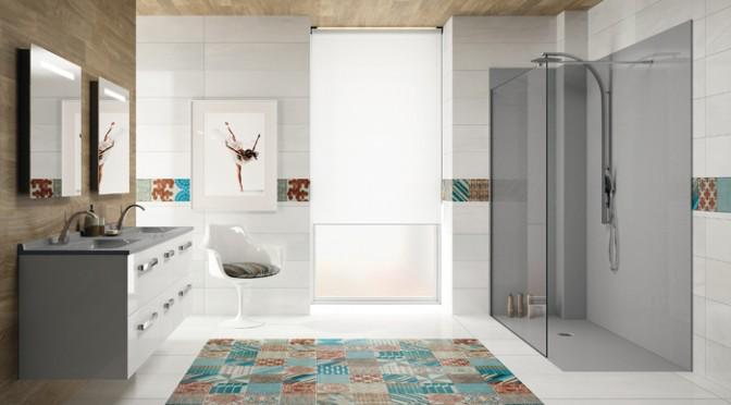 Nouveau concept de salle de bains chez ambiance bain for Eclairer une salle de bain sans fenetre