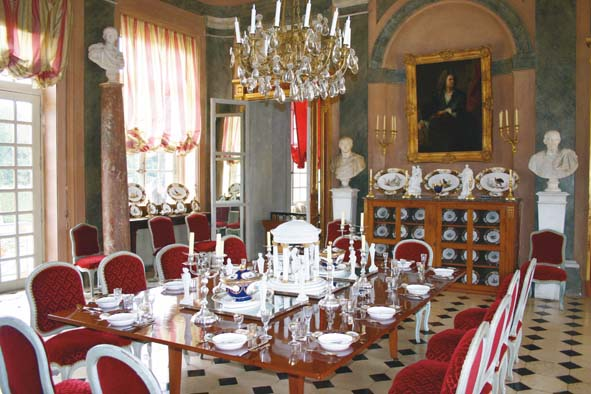 Champ de bataille decorer sa for Salle a manger louis xvi