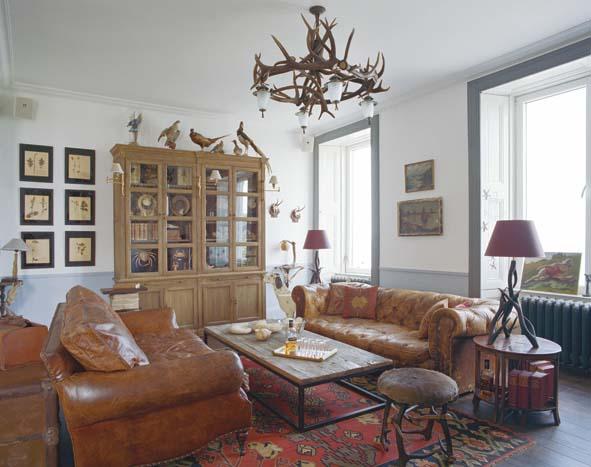 ecosse pittoresque jura lodge decorer sa. Black Bedroom Furniture Sets. Home Design Ideas