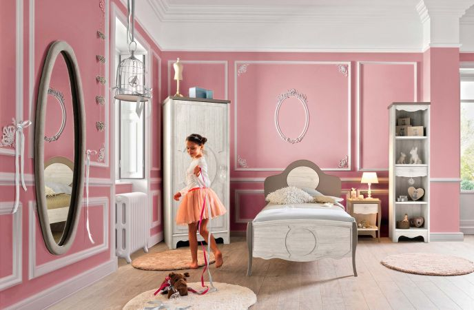 Nouvelle collection romantique f minine decorer sa for Chambre d ados fille