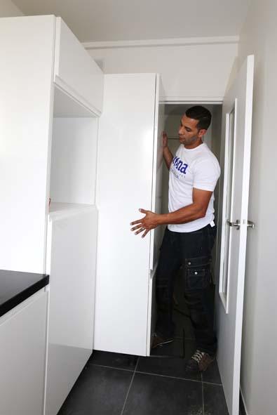 Meuble colonne frigo four - Meuble refrigerateur encastrable ...