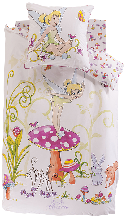 Premi re collaboration entre disney et carr blanc for Housse de couette carre blanc