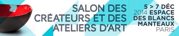 Salon des Créateurs et des Ateliers d'Art du 5 au 7 décembre