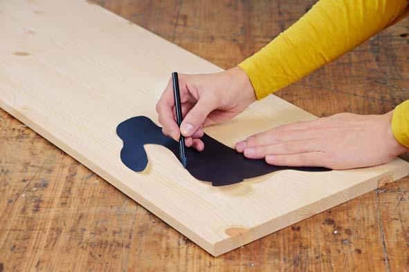 Fabriquer un lapin en bois sur roulettes decorer sa - Fabriquer sa maison en bois ...
