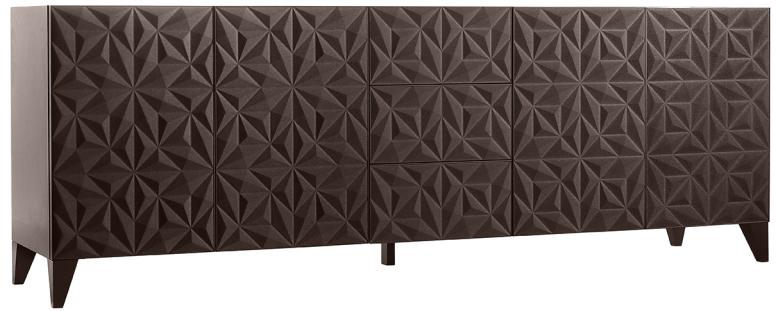 Roche bobois donne du relief au mobilier - Papier peint roche bobois ...
