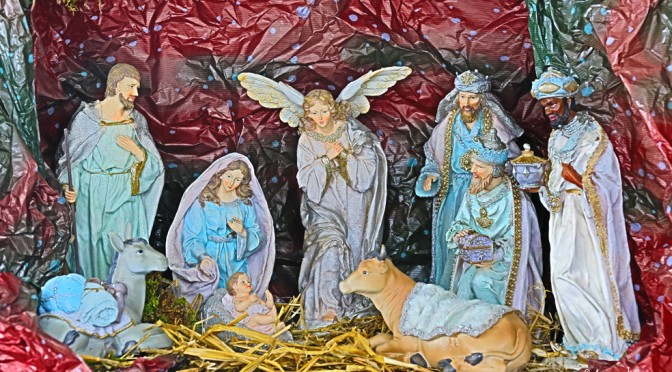 Traditionnelle crèche de Noël