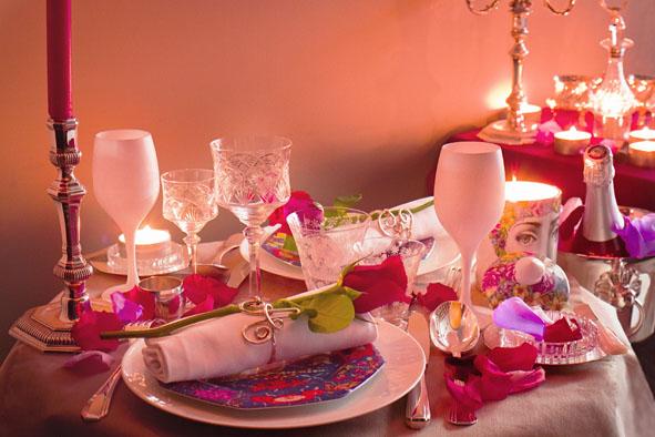 Un dîner romantique pour la Saint Valentin