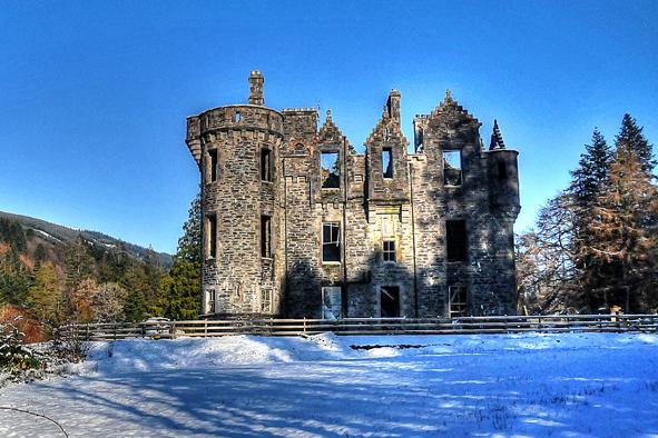 Participez à la restauration d'un château dans les Highlands