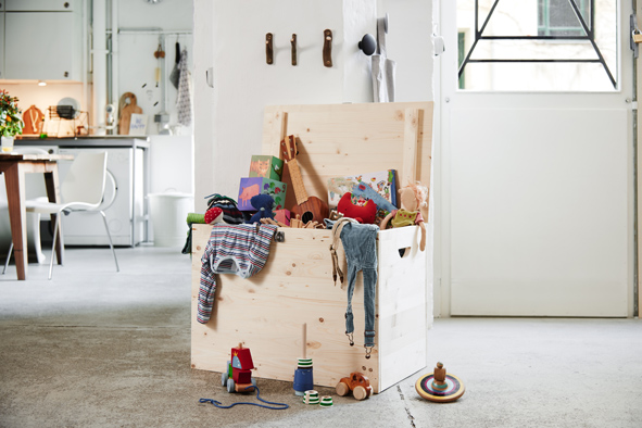 Fabriquer Sa Maison En Bois - Comment fabriquer un coffre en bois multi usage Decorer sa maison fr