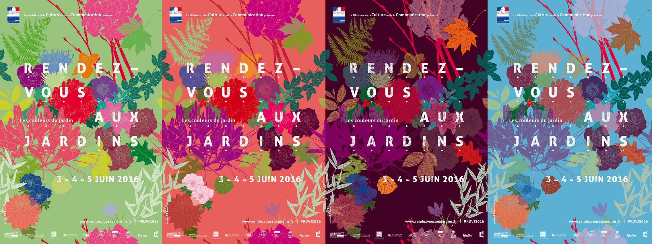 Rendez-vous aux jardins 2016 - 3-4-5 JUIN