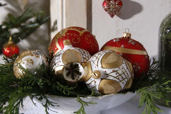 Précieuses boules de Noël