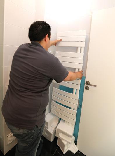 choisir et installer un radiateur s che serviettes lectrique decorer sa. Black Bedroom Furniture Sets. Home Design Ideas