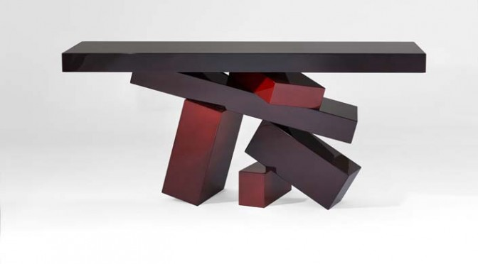 Hervé Van Der Straeten mêle design et art contemporain
