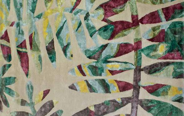 Esprit « tropical jungle » pour les intérieurs d'été