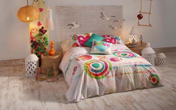 Mettez de la couleur dans votre lit