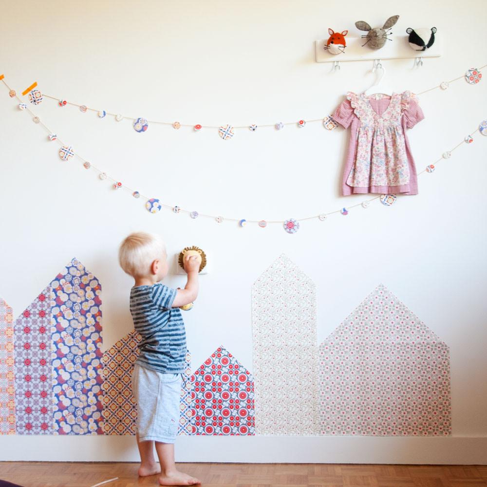 Décoration Murale Chambre à Faire Soi Même En 55 Idées: Inspiration Papier Déco Azulejos Du Portugal