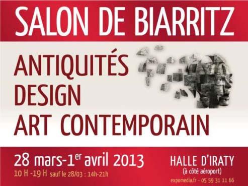 Le Salon des Antiquaires revient à Biarritz du 17 au 21 Avril 2014