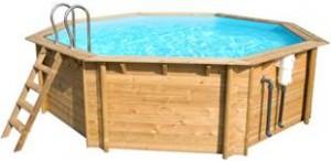 Modèle octogonal à partir de 2 876,46€ (prix pour une piscine de dimension 440 x 120cm)