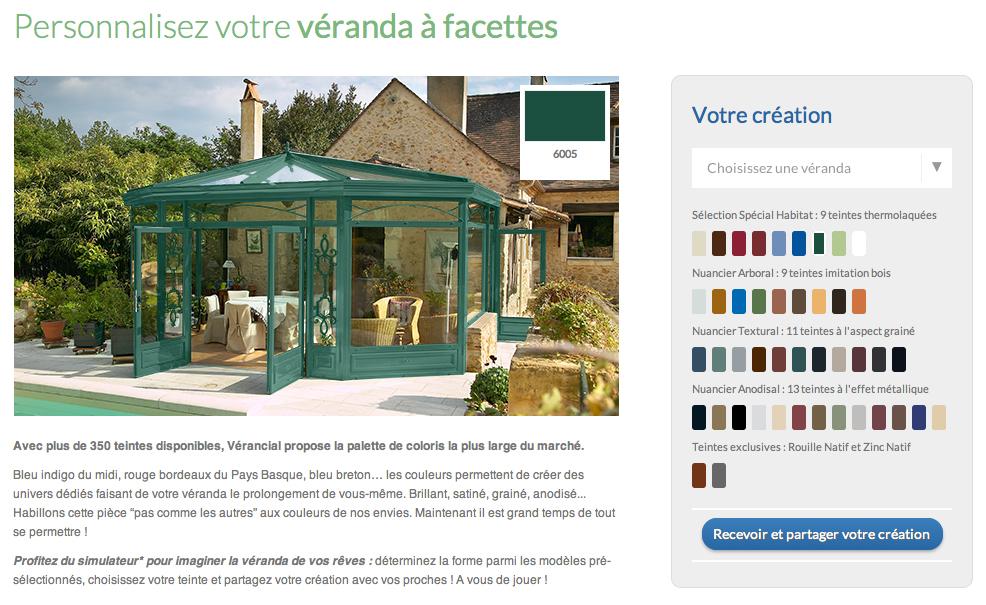 Verancial simulateur coloris 1 decorer sa for Simulateur jardin