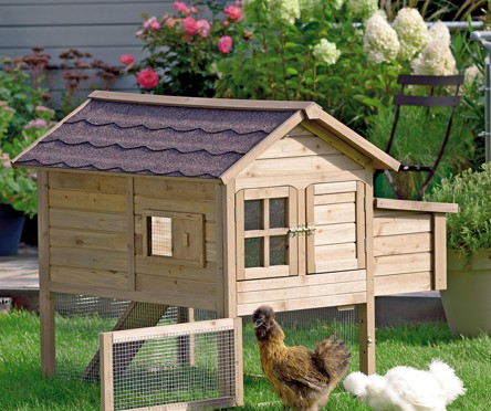 accueillir les poules au jardin decorer sa. Black Bedroom Furniture Sets. Home Design Ideas