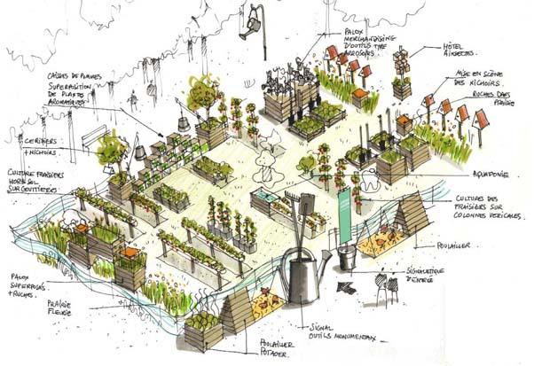 Jardins jardin aux tuileries decorer sa for Jardin aux tuileries