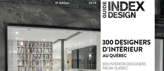 Guide 300 designers d'interieur au Québec