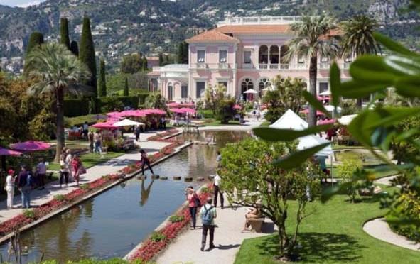 Fête des Roses 2014 à la Villa Ephrussi de Rothschild