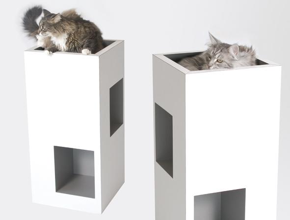 Ambiance intellato panier cuccia design decorer sa for Maison chat design