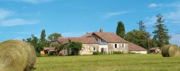 Lot-et-Garonne : La petite maison dans la prairie…