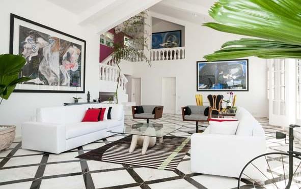 Villa design et avant-gardiste à Rio