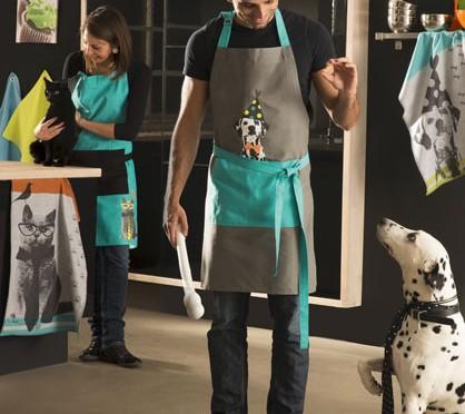 Chien et chat animent nos cuisines !