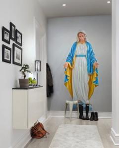 Rebel Walls - Virgin Mary