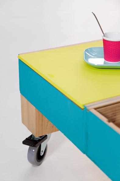 Cr er une table basse avec des caisses vin decorer sa - Creer une table basse ...