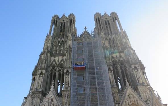 Restauration du statuaire de la Cathédrale de Reims