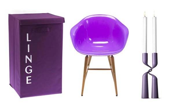 Le violet à l'honneur !