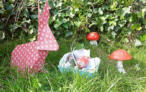 Fabriquez des lapins origami pour Pâques !