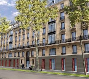 Situé entre le Trocadéro et les Champs Elysées, ce superbe édifice allie le modernisme du célèbre architecte Ricardo Bofill et le style haussmannien.