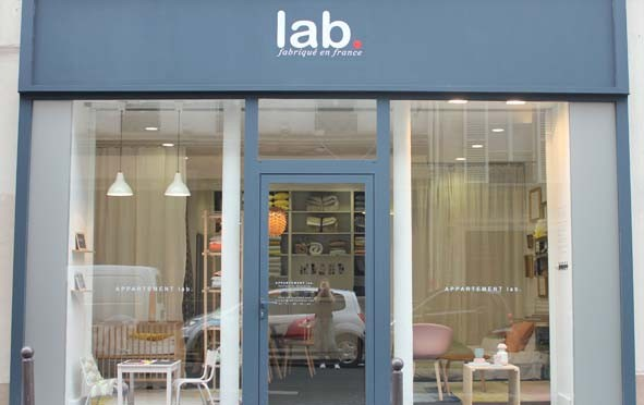 Lab. ouvre sa boutique à Paris