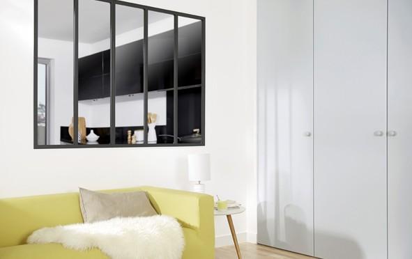 acier decorer sa. Black Bedroom Furniture Sets. Home Design Ideas