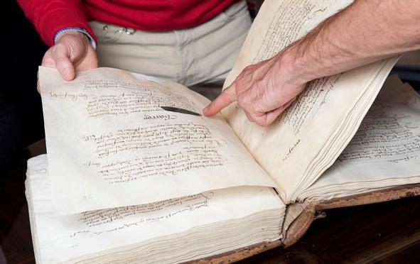 Appel aux dons pour l'acquisition et la restauration du registre des comptes du château d'Amboise
