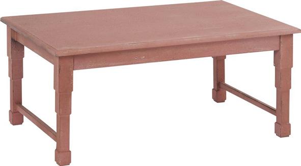 Table basse en bois/métal/zinc. Dimensions : 91 x 60,5 x H.40 cm, 178 € (www.hanjel.fr).