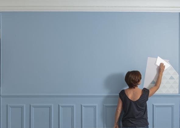 Cr ez un tableau xxl decorer sa - Chasser les ondes negatives d une maison ...