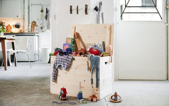 Comment fabriquer un coffre en bois multi-usage