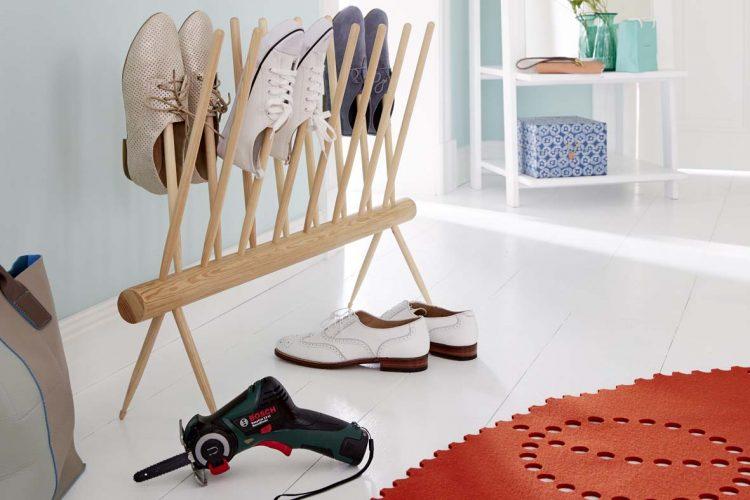 comment fabriquer un range chaussures decorer sa. Black Bedroom Furniture Sets. Home Design Ideas