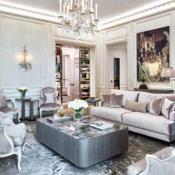 Karl Lagerfeld a décoré deux suites pour l'Hôtel de Crillon