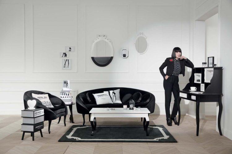 chantal thomass signe une collection pour maisons du monde. Black Bedroom Furniture Sets. Home Design Ideas