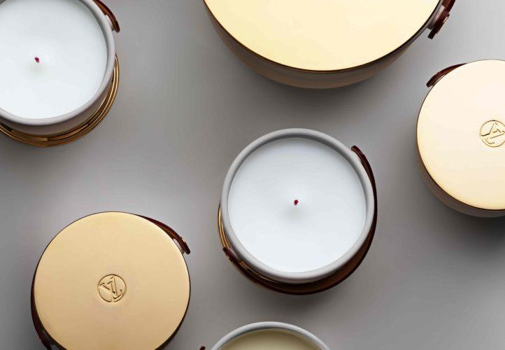 Louis Vuitton lance une collection de bougies parfumées XXL