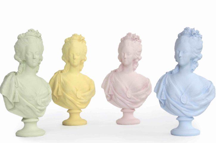 Buste de Marie-Antoinette «Collection pastel» en édition limitée