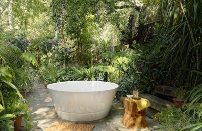 Taizu de Victoria+Albert une luxueuse baignoire outdoor